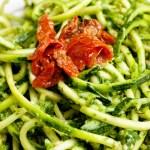 raw pesto pasta