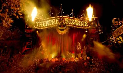 Theatre Bizarre, circus-themed underground masquerade party