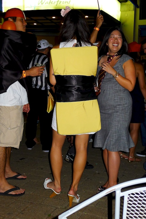 thereafterish, Aloha Tower Halloween Party, Tamago Costume