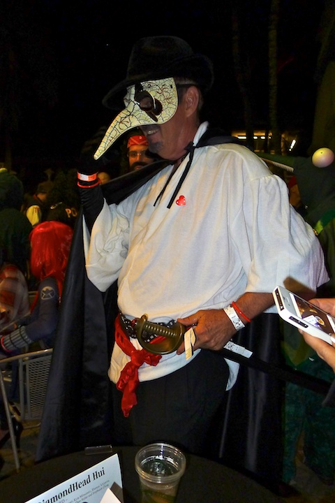 thereafterish, Aloha Tower Halloween Party, cyrano de bergerac costume