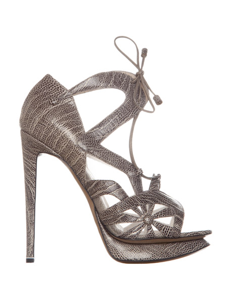 Nicholas Kirkwood Spring Summer 2011 Lattice Stiletto