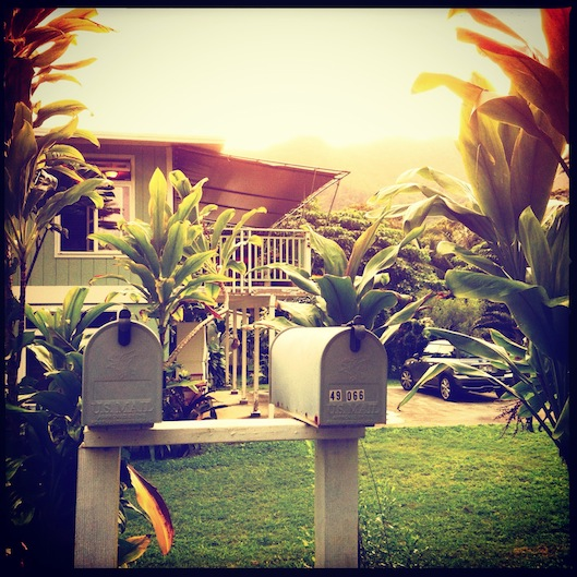 January Photo a Day, #janphotoaday, Letterbox, Koolau, Hakipuu
