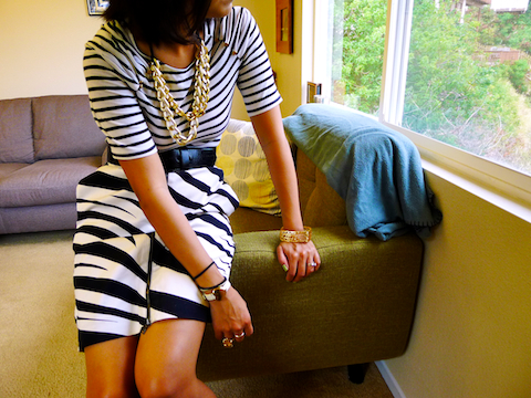 thereafterish, OOTD, how to wear mixed prints, Zebra pencil skirt