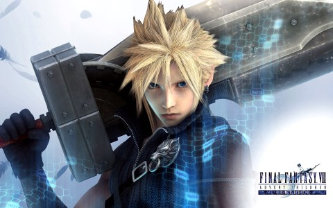 cloud strife, advent children, cloud advent children, final fantasy, final fantasy movie