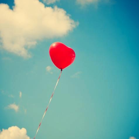 thereafterish, valentine's day, red heart balloon, heart balloon, valentine's day giveaway
