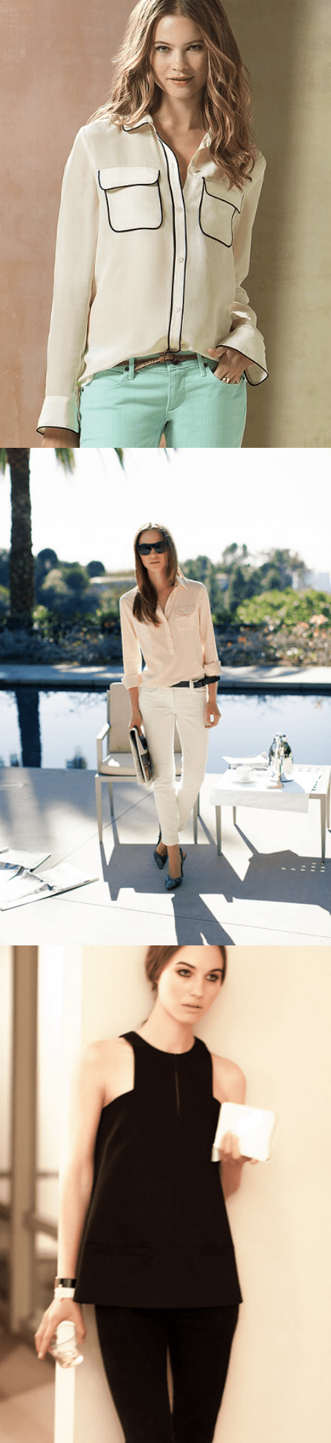 style inspiration, thereafterish, lux tops, lux lounge, luxury casual