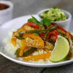 One-Dish Chicken Fajita Bake