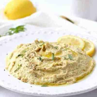 Easy Peasy Garlic Hummus