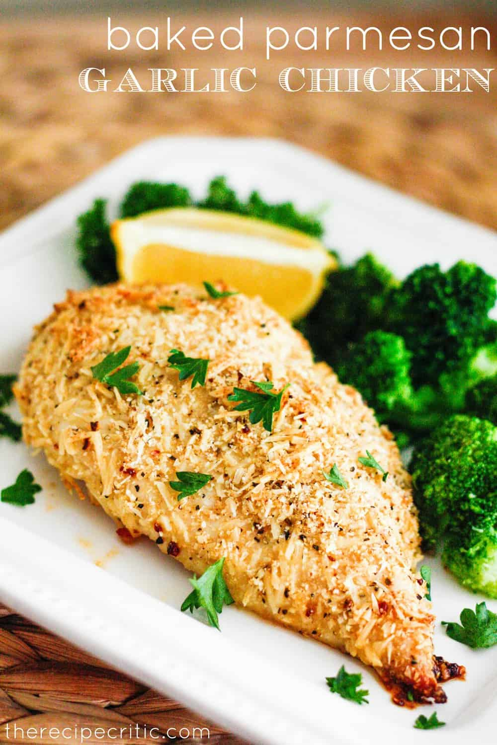 Fullsize Of Baked Parmesan Crusted Chicken