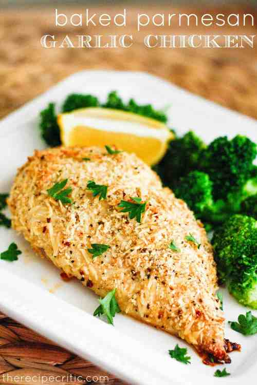Masterly So A Easy Meal That Everyone Baked Parmesan Garlic Ken Recipe Critic Kenwas Full I Loved How Parmesan Cheese Gave It A Delicious Crust Flavor