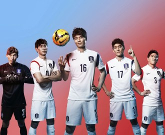 South Korea 2014 World Cup Away Kit (1)