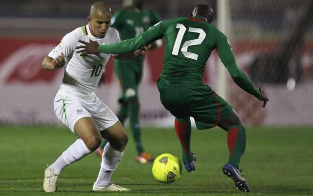 Feghouli in action