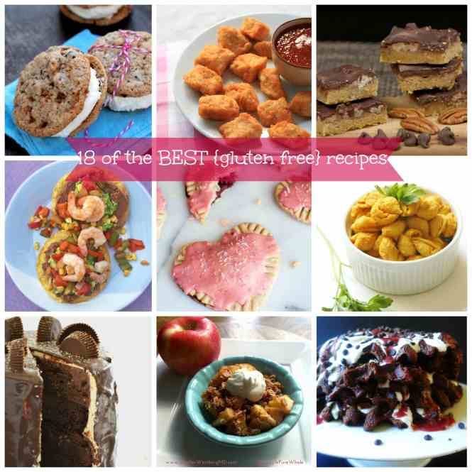 18 of the BEST {gluten free} recipes from top bloggers!