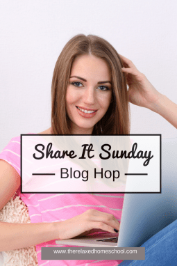 Share it Sunday Blog Hop! Link-Up!