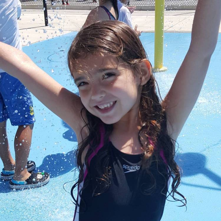 We had an amazing first day of swim practice today!hellip