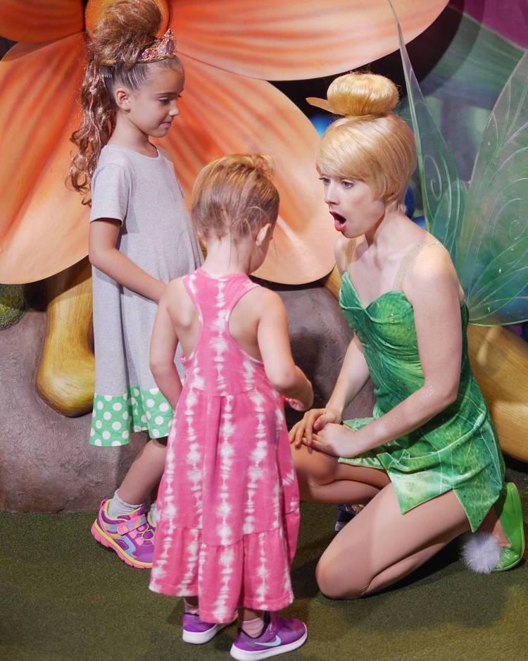 Meeting Tinker Belle was the most exciting part of Georgianashellip