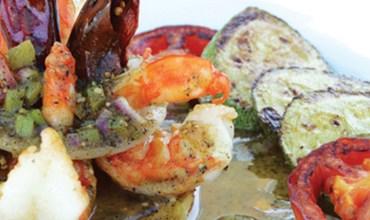 RESTAURANT JUGO DE LIMÓN Shrimp with mezcal (platillo estrella)
