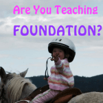 Are you teaching foundation?