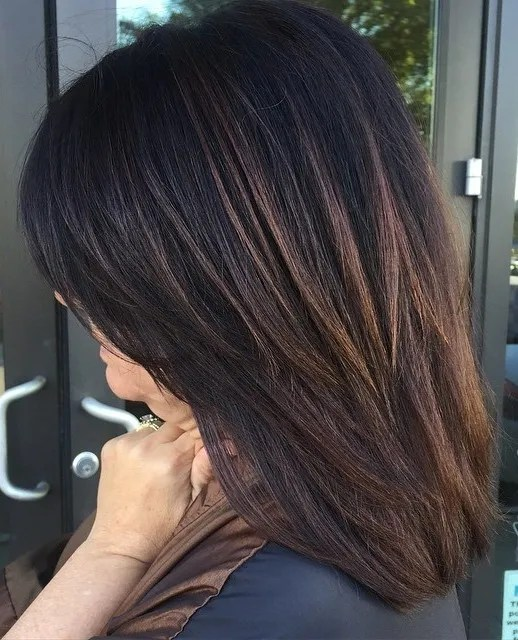 Medium Brown Hair With Lowlights: 60 Hairstyles Featuring Dark Brown Hair With Highlights