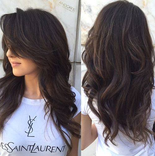Hairstyles For Long Hair With Layers : 80 Cute Layered Hairstyles and Cuts for Long Hair in 2016