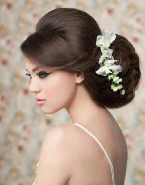 prom updo for long thick hair