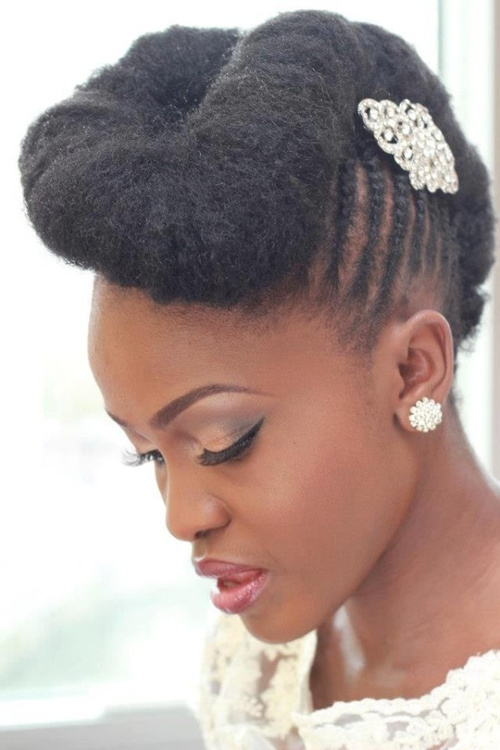 Wedding hairstyles for natural hair pinterest