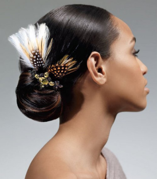 60 superb black wedding hairstyles. Black Bedroom Furniture Sets. Home Design Ideas
