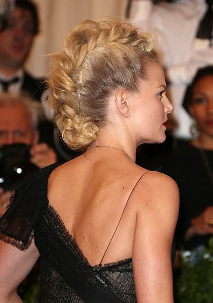 Jennifer Morrison Mohawk braid