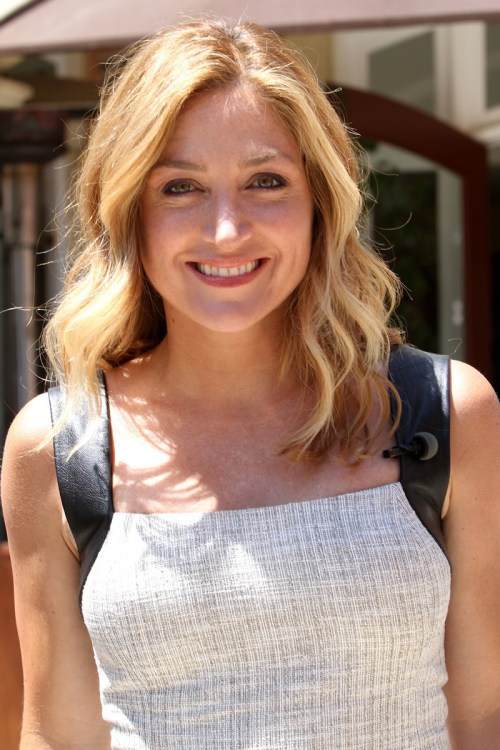 Sasha Alexander medium shag haircut
