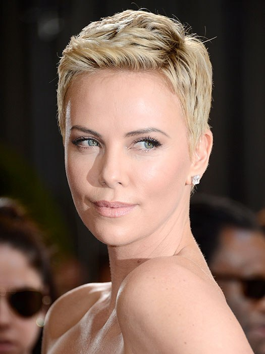 Cute haircuts from charlize theron