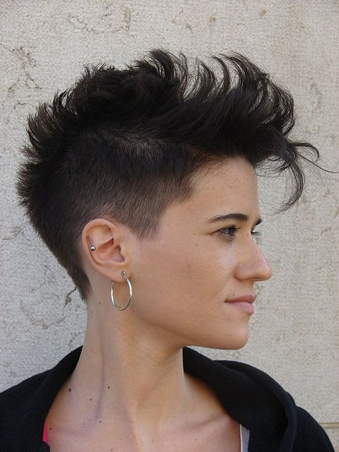 cute mohawk style and fashion