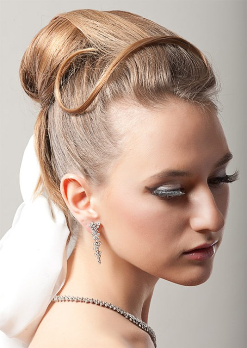 best prom updos for long hair