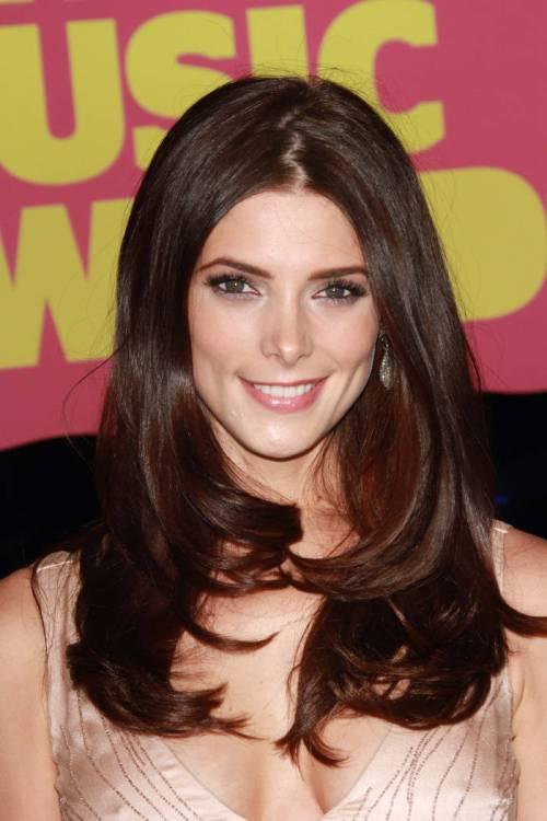 Ashley Green maroon hair color