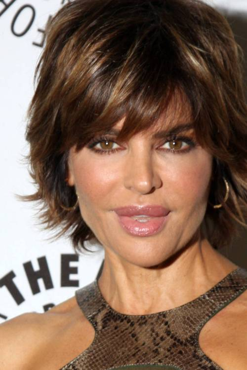 Lisa Rinna caramel highlights