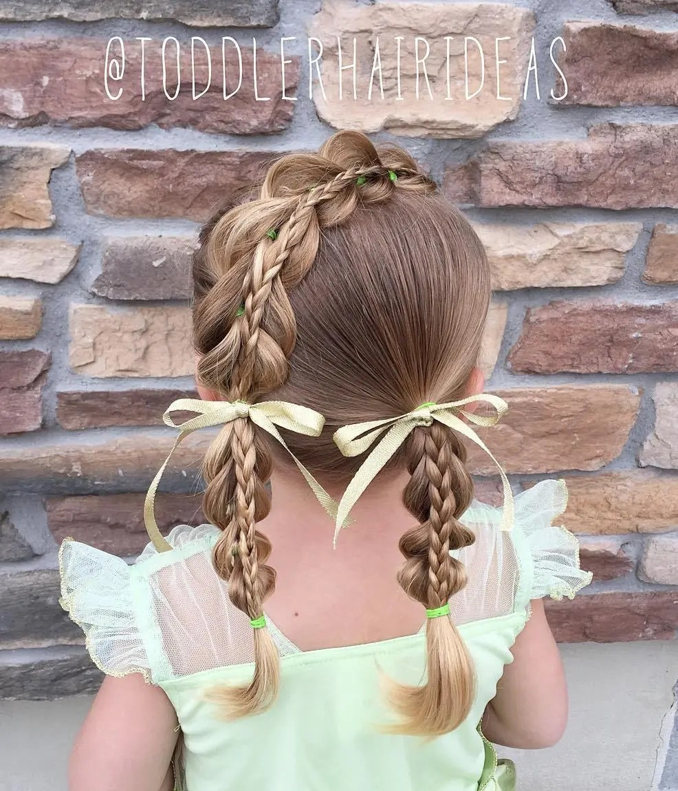 Toddler Braided Hairstyle
