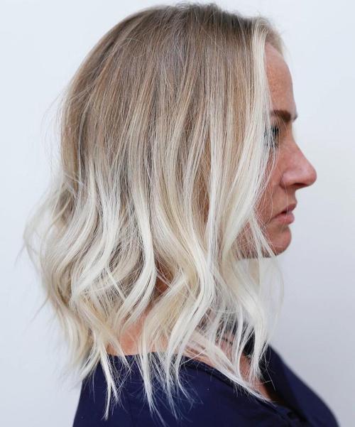 Blonde Ombre For Medium Hair