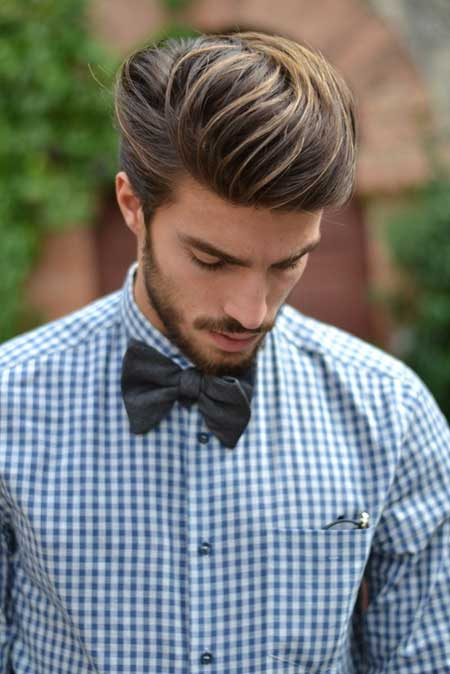 men's pompadour hairstyle
