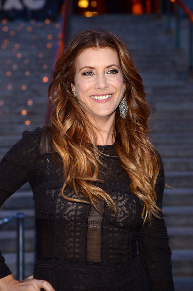 Kate Walsh reddish brown ombre for long hair