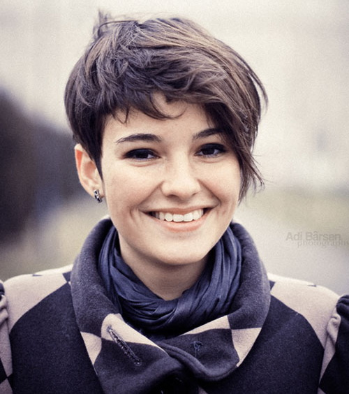 Short Curly Punk Hairstyles