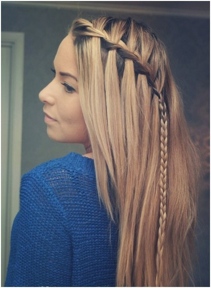Braided Hairstyles For Medium Straight Hair Braided Hairstyle For Straight