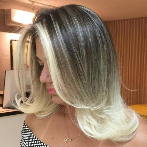 Medium Dark Brown To Blonde Ombre Hair