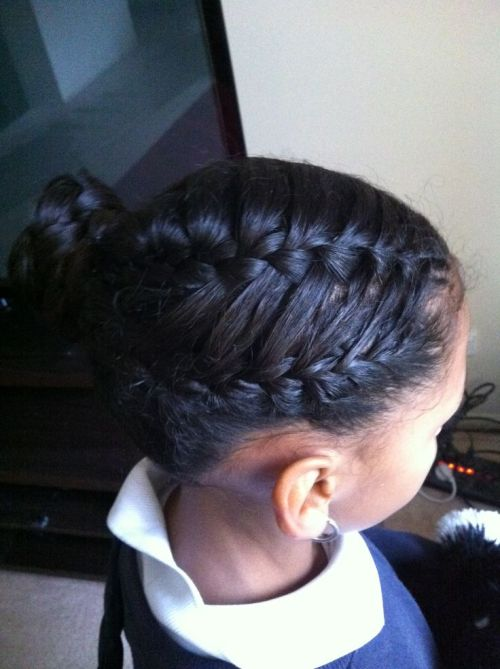 Charming Hairstyles With French Braids For Black Women