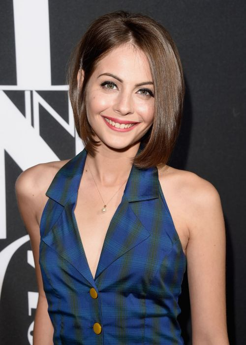 Willa Holland bob for fine hair