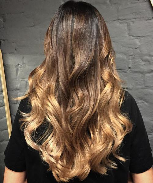 Blonde Ombre Hair To Charge Your Look With Radiance brown to blonde long ombre hair