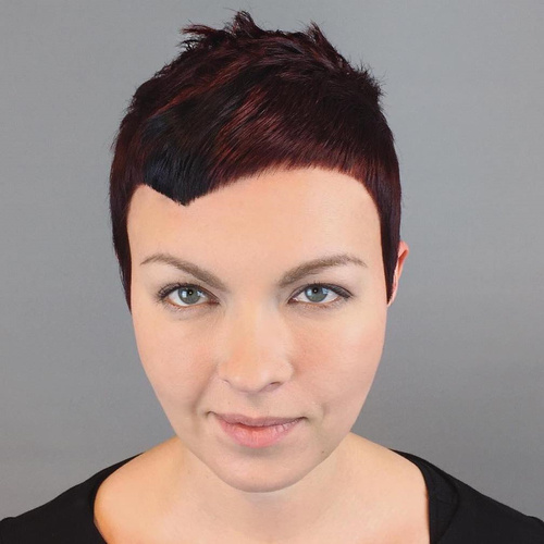 Extra Short Asymmetrical Pixie