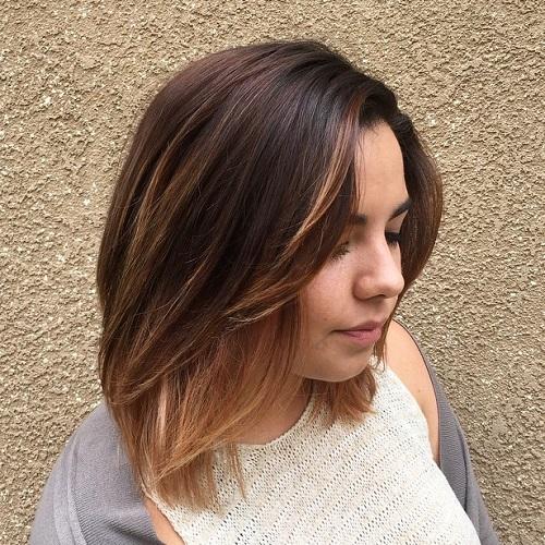Medium Brown Ombre Hair