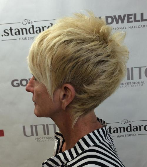 Fauxhawk Pixie For Women Over 50