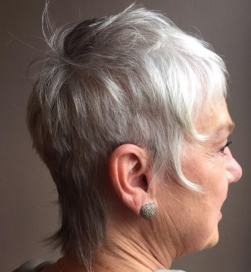 Older Women's Short Hairstyle