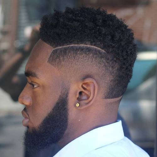 Burst Fade And Nape Fade