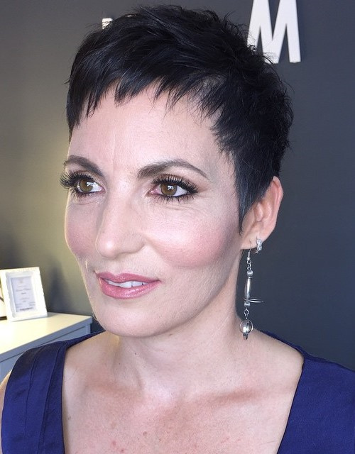 classic pixie haircut for women